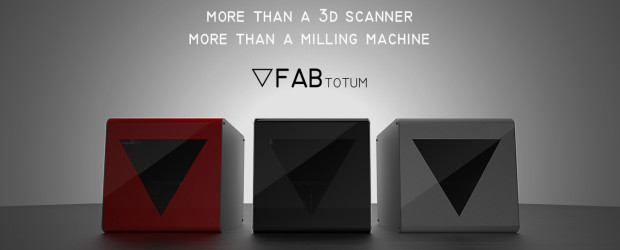 FABtotum : la machine à tout faire (scanner, imprimante, fraiseuse, …)