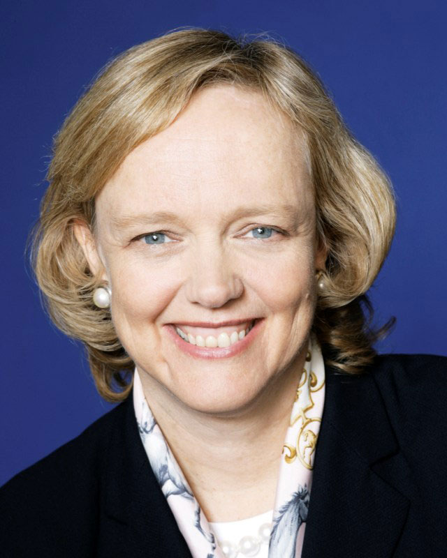 Meg Whitman CEO HP  crédit : hp.com