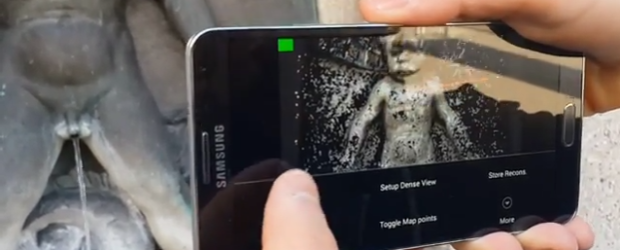 Des scientifiques transforment un smartphone en scanner 3D