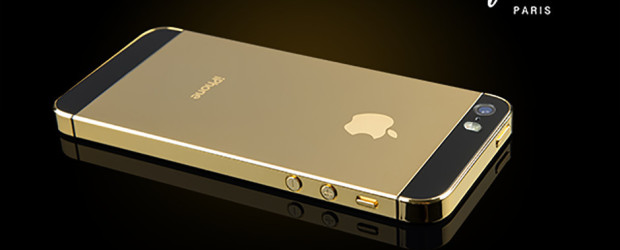 Un iPhone 5S en or 18 carats