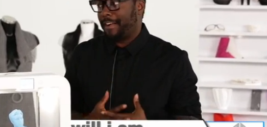 Will.I.Am des Black Eyed Peas rejoint 3D Systems, le spécialiste de l'impression 3D